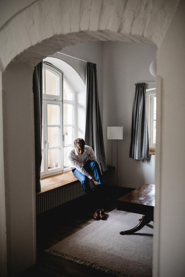 Getting Ready in Gut Sonnenhausen