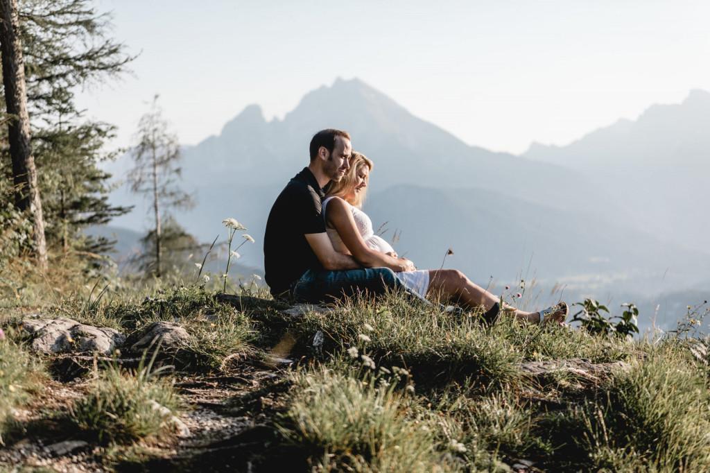 Berggipfel Berchtesgaden