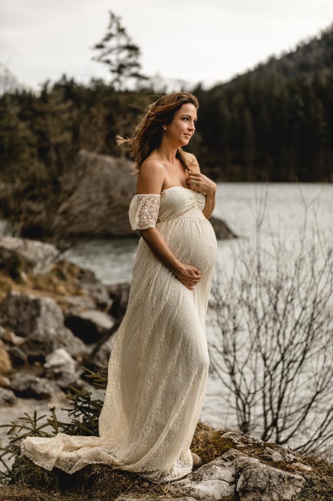 was anziehen bei einem Babybauchshooting?