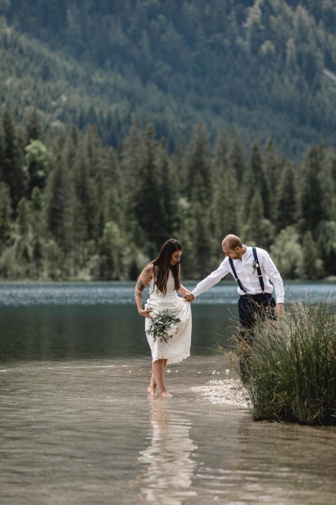 intime Hochzeit in Berchtesgaden