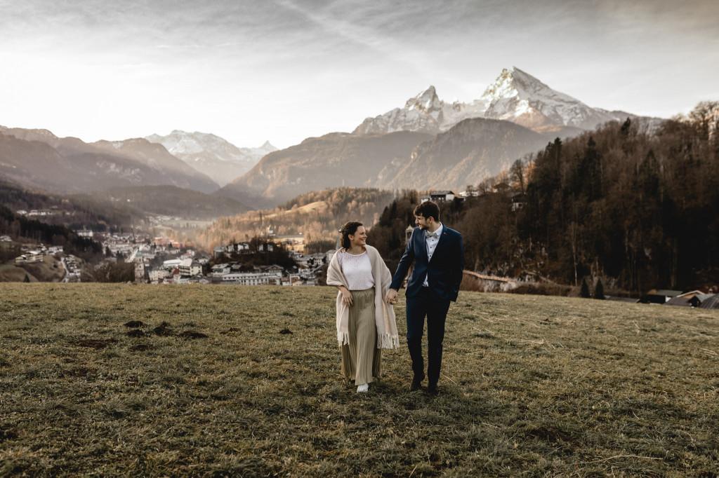 Hochzeit in Berchtesgaden mit Watzmannblick
