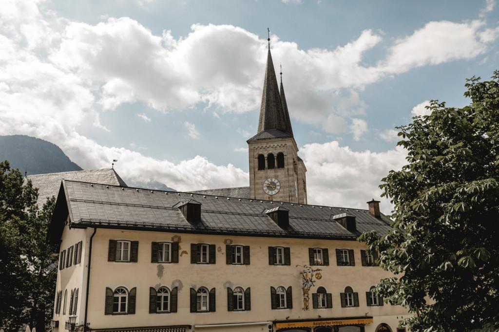 Blick vom Rathaus Berchtesgaden