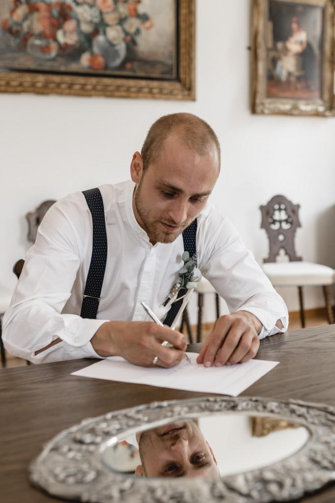 Unterschrift Hochzeit