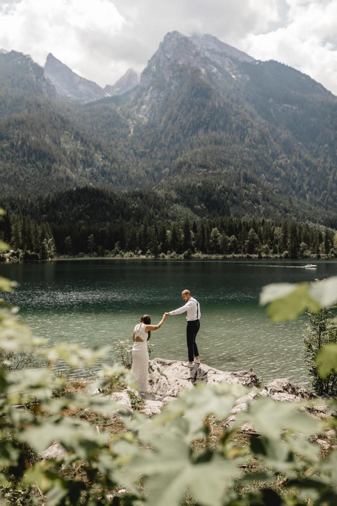 Hochzeit in die Berge