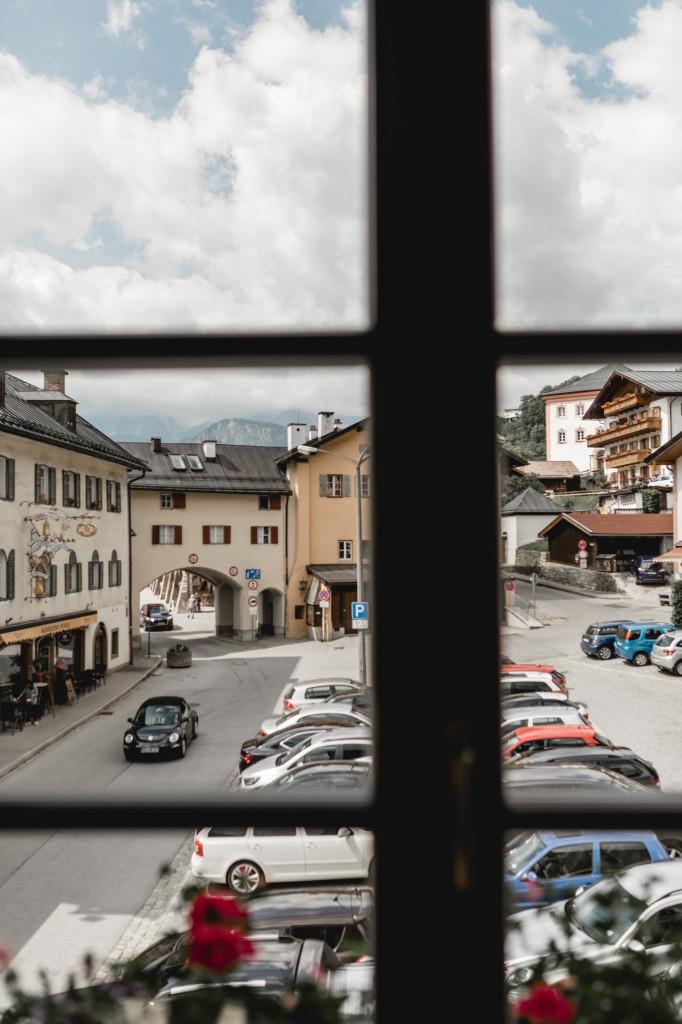 Blick vom Standesamt Berchtesgaden