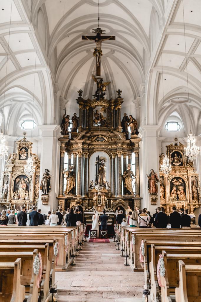 Hochzeit St. Andreas Kirche Berchtesgaden
