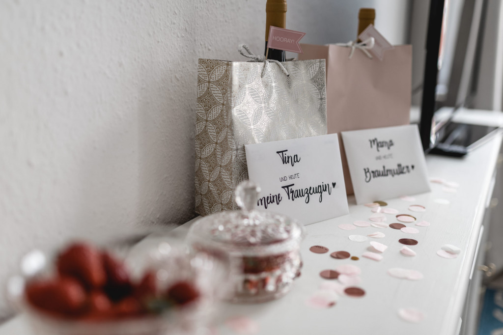 Geschenke für Trauzeugin