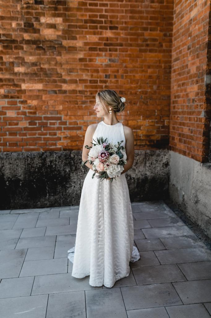 Brautkleid Küss die Braut - Bohokleid