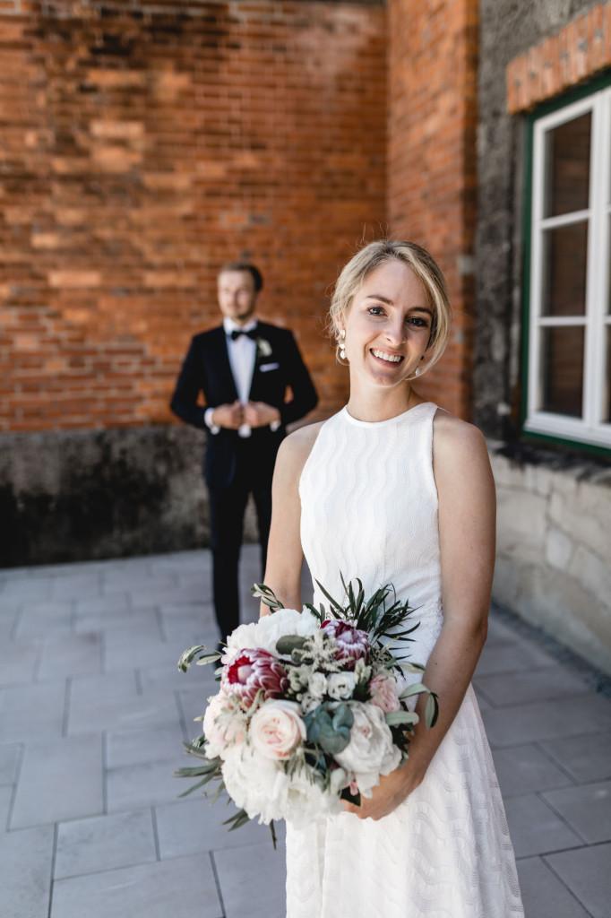 natürliche Brautpaarfotos