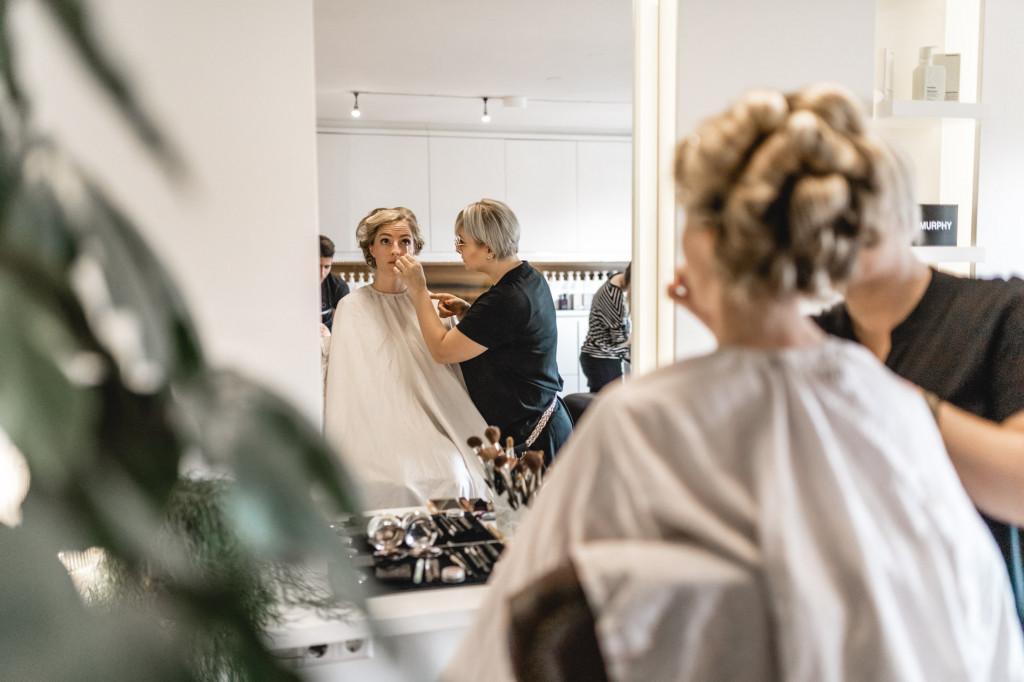 Getting Ready im Friseur Adelheid in Traunstein