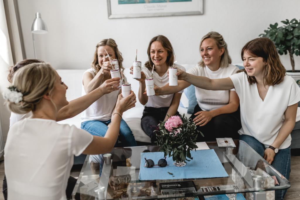 Feiern mit den Mädels